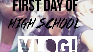 FIRST DAY OF HIGH SCHOOL VLOG Thumbnail