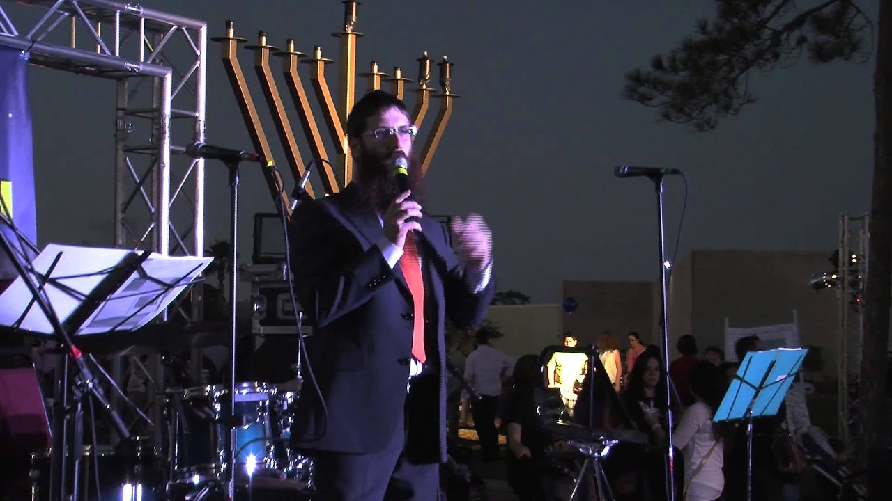 Chanukah Chabad S Orlando 2017 Community Festival Lighting Celebration Mov