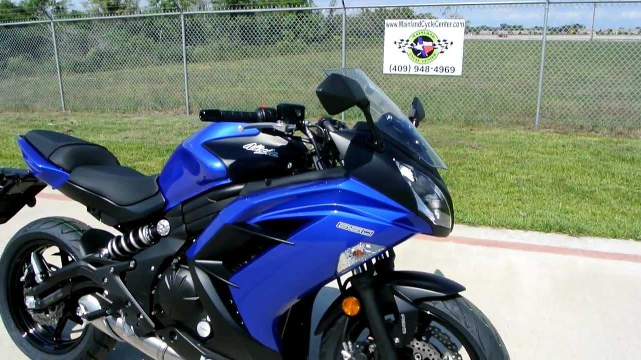 On Sale Now $6,299.00: Brand New 2013 Kawasaki Ninja 650 ABS - YouTube