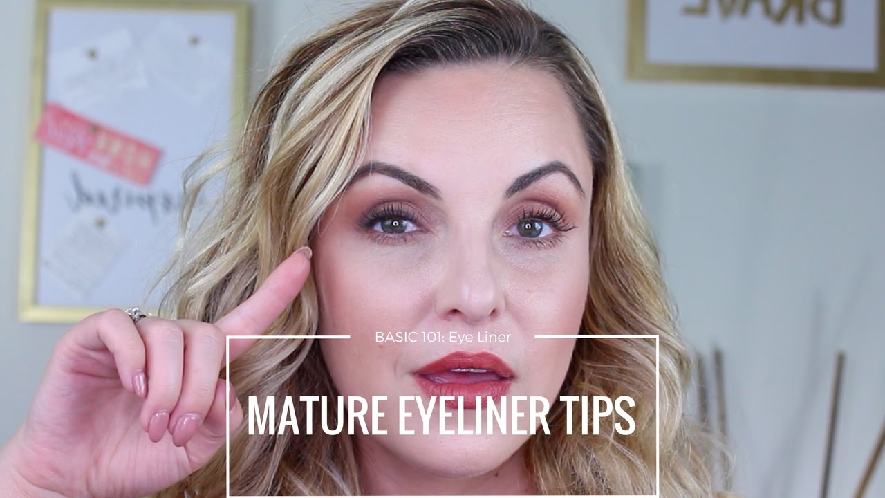 Beginners Guide on Eyeliner for Mature Eyes Basic 8 - Elle Leary  Artistry