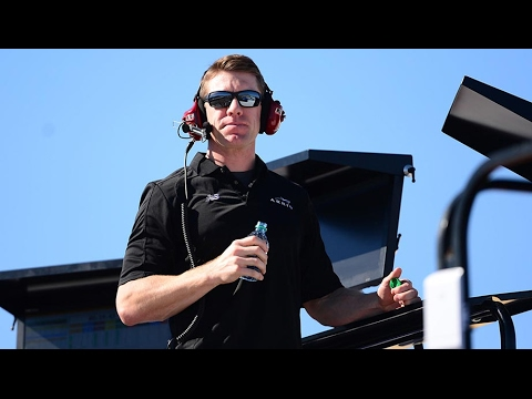 Carl Edwards returns to track ... to help...