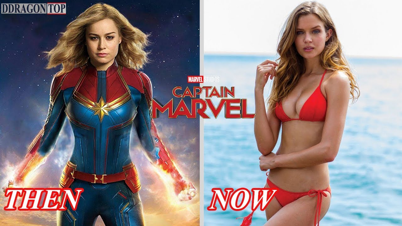 Captain Marvel 20 Cast & Characters Then and Now Capitana Marvel