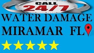 Water Damage Miramar Service | ☎ (954) 874-0795