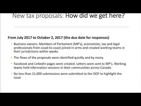 New Tax Proposals What Entrepreneurs & Small Business Owners Need to Know