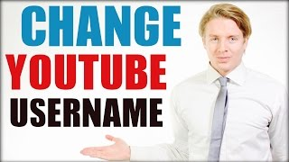 How To Change Your Youtube Username 2016