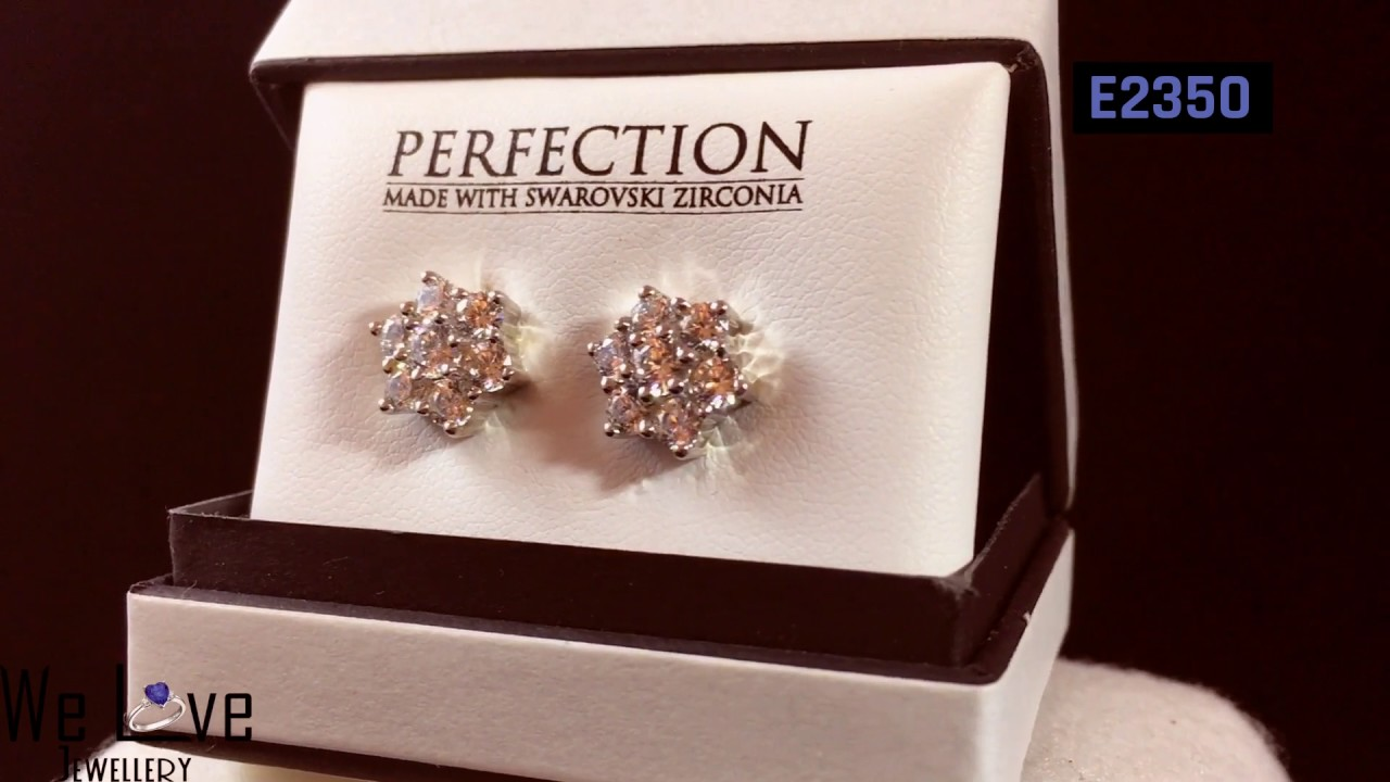 Perfection With Swarovski Zirconia A Selection Of Earrings From