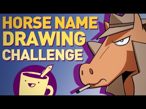Artists Draw Horses Based On Their Crazy Names