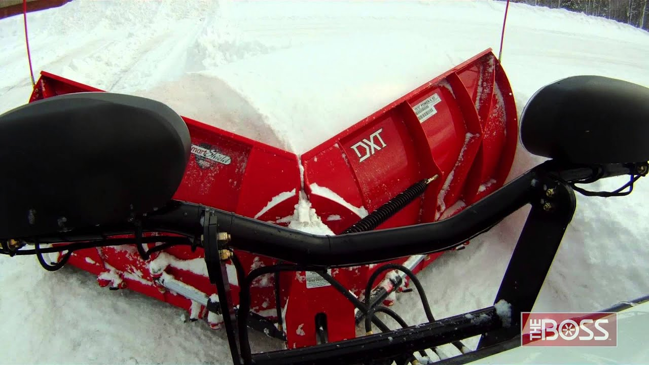hight resolution of bos snow plow for atv