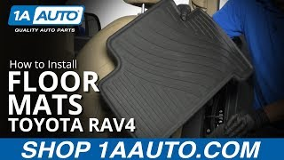 How to Install Floor Mats 07-12 Toyota RAV4