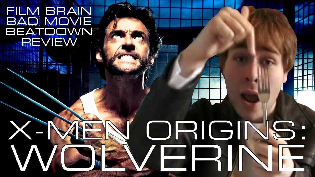 bad movie beatdown x men origins wolverine review youtube. Black Bedroom Furniture Sets. Home Design Ideas