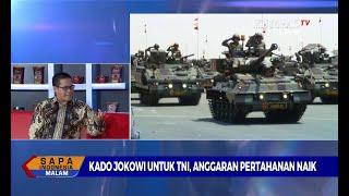 DIALOG - Membahas Kado Jokowi untuk TNI, Anggaran Pertahanan Naik [2]