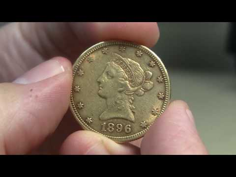 1896 US Gold Eagle Unboxing