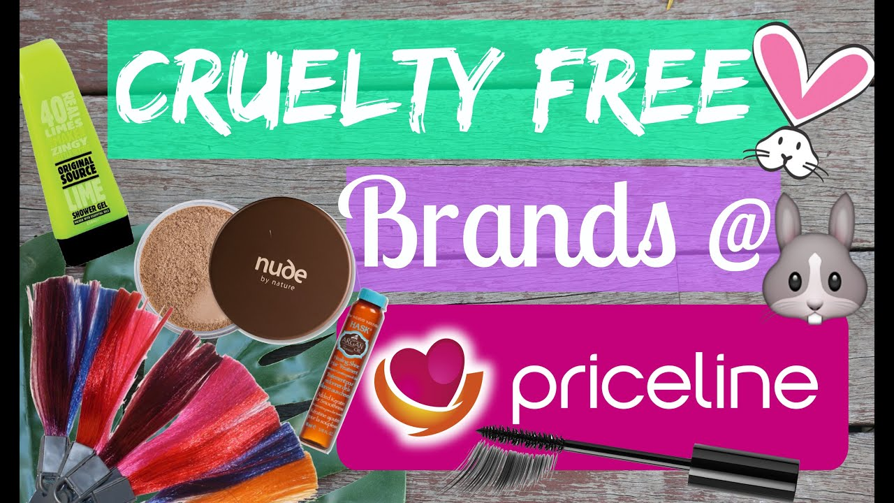 Cruelty Free Brands At Priceline Makeup Hair Tanning Beauty
