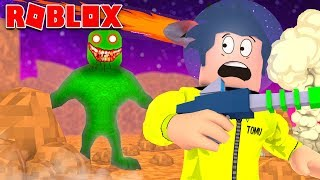 MY FRIEND WAS TRANSFORMED into AN ALIEN in ROBLOX: Time Travel Adventures