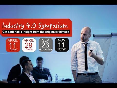 Industry 4.0 Masterclass With The Originator: Henrik Von Scheel
