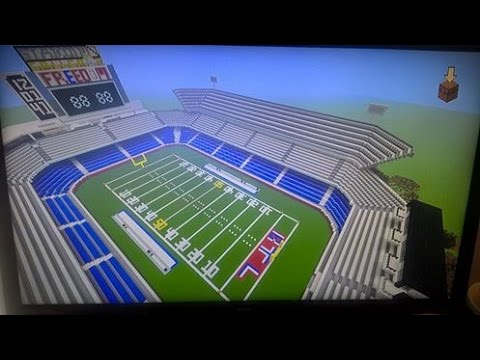 minecraft american football stadium
