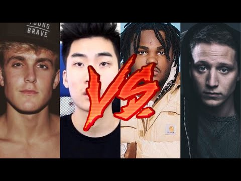 Thumbnail: Youtube Rappers Vs. Real Rappers