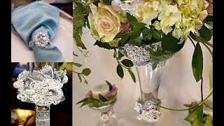 Totally Dazzled Centerpiece and Table Display DIY