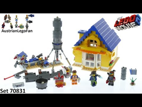 Lego Movie 2 70831 Emmet´s Dream House - Lego Speed Build Review