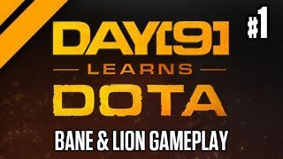 Day[9] Learns Dota - Bane & Lion P1