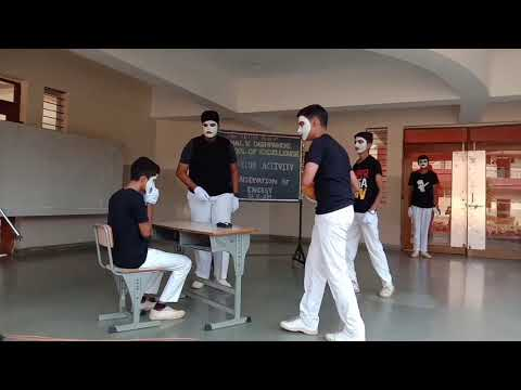 Mime act on Conservation of Energy | Eco-Club Activity | VVDSE