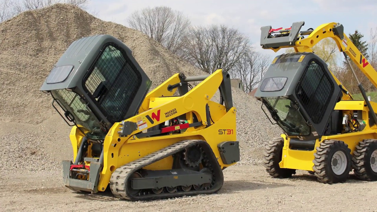 Wacker Neuson Launches Medium Frame Skid Steer And Compact