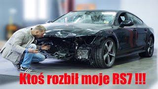 [I] Ktoś rozbił moje Black Audi RS7 2016 ???!!! Part I *początek*