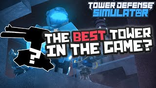 [Roblox] Tower Defense Simulator: TURRET UPDATE BEST TOWER ON THE GAME (TOO OP)