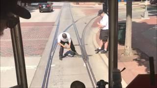 Manual Track Switching on McKinney Avenue Transit Authority