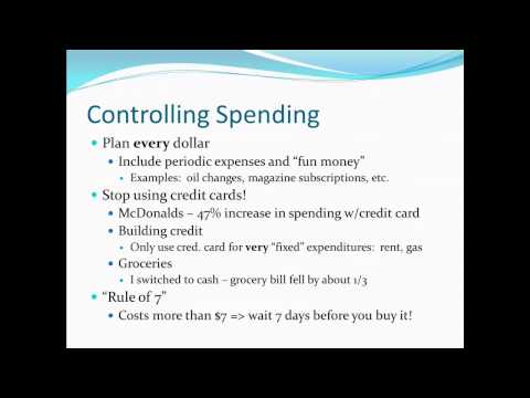 Principles of Microecon 21 – Personal Finance 1