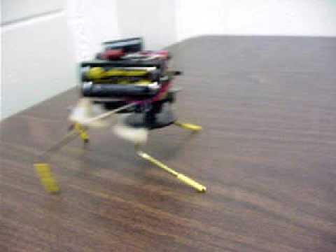 The one motor walker - BEAM robotics