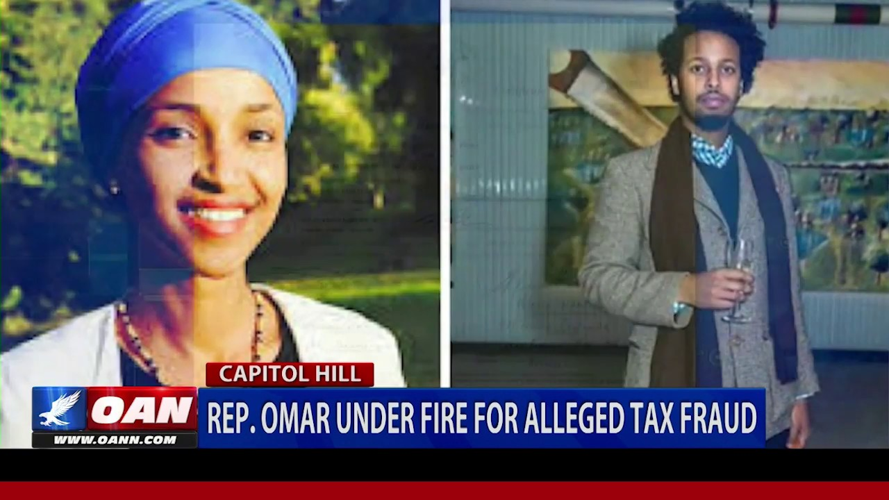 OAN Rep. Omar under fire for alleged tax fraud
