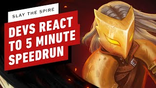 Slay the Spire Developers React to 5 Minute Speedrun