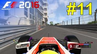 F1 2016 - Career Mode #11: Monaco Grand Prix - Free Practice & Qualifying