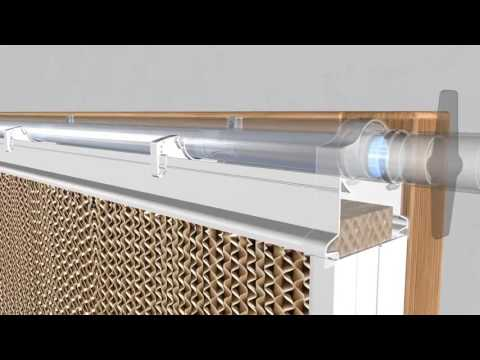Evaporative Cooling With This New Pad Cooling System   Editado