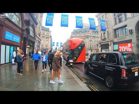 London walk, Soho - Oxford Street - Piccadilly circus | City Walks