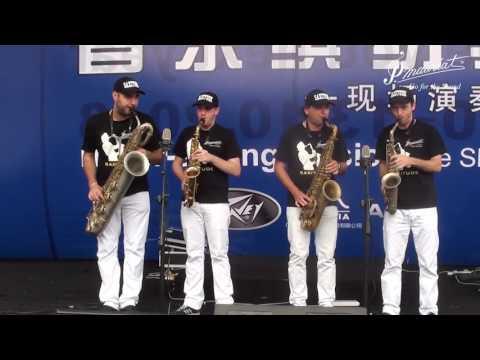 SAXITUDE in Music China (Shanghai)