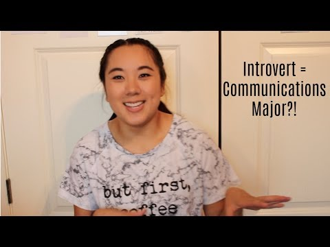 Introvert = Communications Major?!