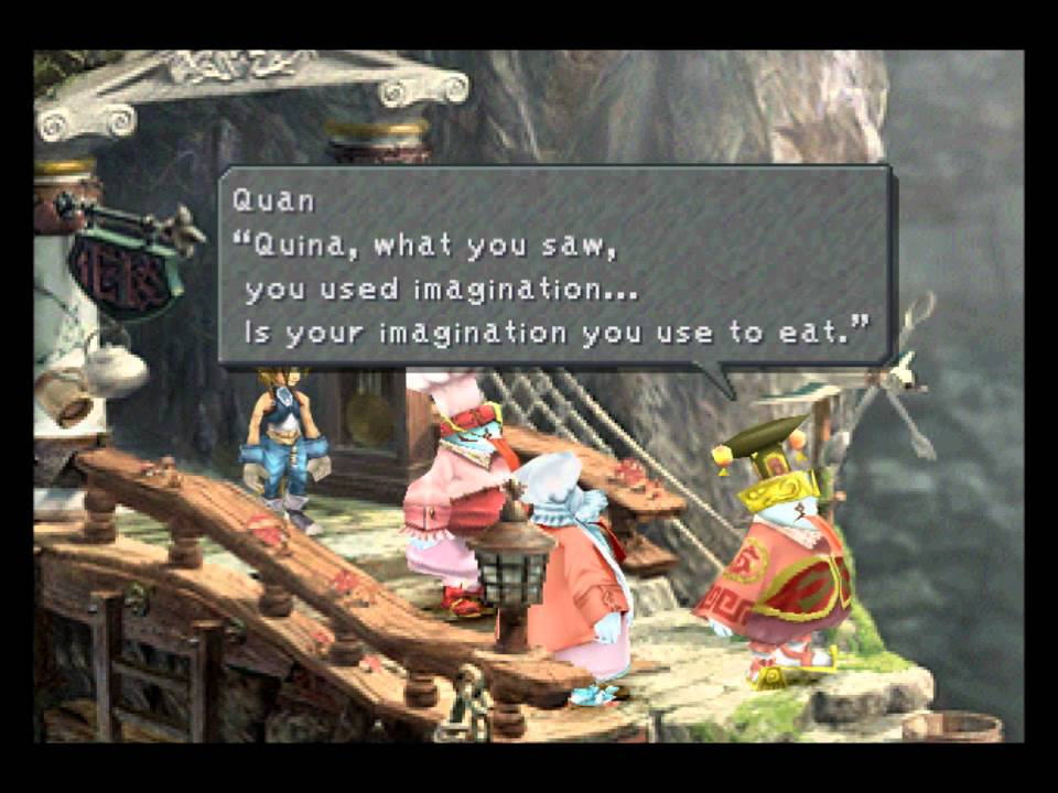Final Fantasy Ix Quans Dwelling Optional Cutscene Youtube