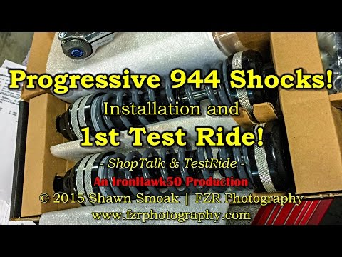 Progressive 944 Shocks! - Install & Test Ride! | '15 SGS | S