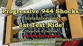 How to choose the right Progessive Motorcycle Shocks - YouTube