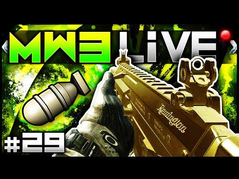 ACR MOAB! + Bonus Rushing MOAB! - MW3 LiVE #29 (Call of Duty Modern Warfare 3 Multiplayer Gameplay)