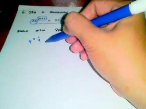 Pembahasan Soal Matematika Dasar Tkpa Sbmptn No 6