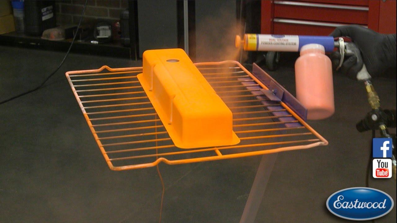 how to make powder coating