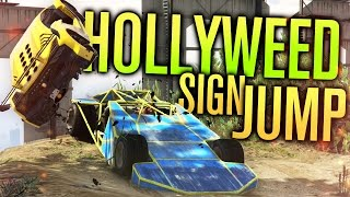JUMPING THE HOLLYWEED SIGN! | GTA 5 (Online) w/ The Nobeds