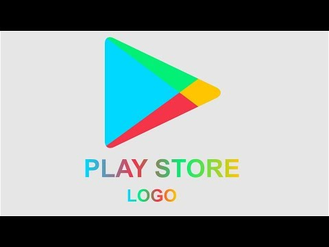 PLAY STORE LOGO creation | how to create google play store logo on Corel Draw.