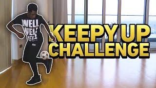 Keepy Ups Challenge!