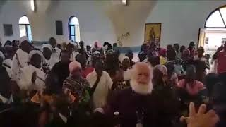 Pope of Alexandria welcomed by the Orthodox Christians in Tanzania