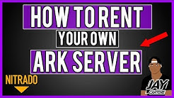 How To Rent Your Own ARK PS4 Server - Nitrado PS4 Server Tutorial