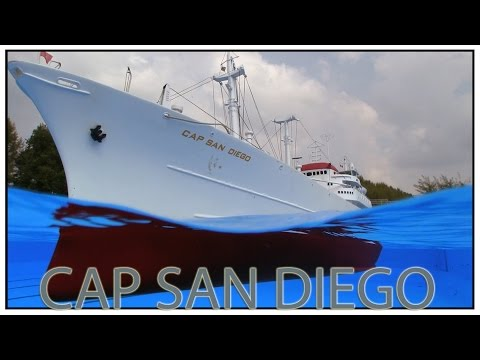 Reefer And White Swan Of The Atlantic CAP SAN DIEGO, Part 2 - Aukrug 2014